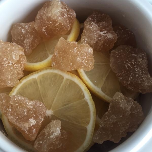 柠檬炖冰糖的做法