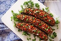 下饭菜|香菇肉末烤茄子的做法