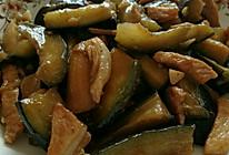 茄子炒肉丝的做法