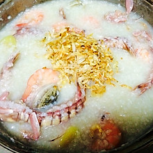一品鲜潮汕海鲜粥|嫩粥底快速熬制|养老公不重样