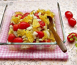 小番茄沙拉的做法