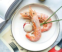 梅子酱红虾渍汤圆的做法