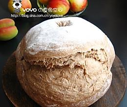 燕麦乡村面包的做法