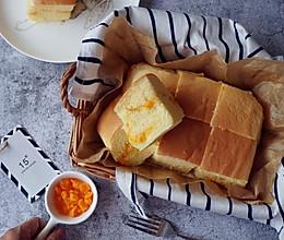 咸蛋黄芝士酱古早蛋糕的做法