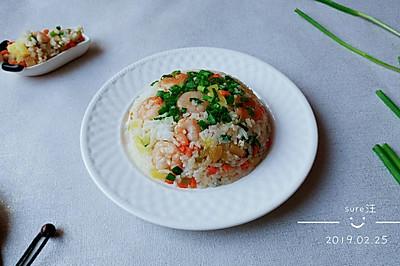 胡胡椒椒菠萝饭