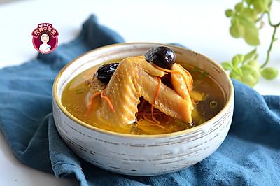 红枣虫草花鸡汤