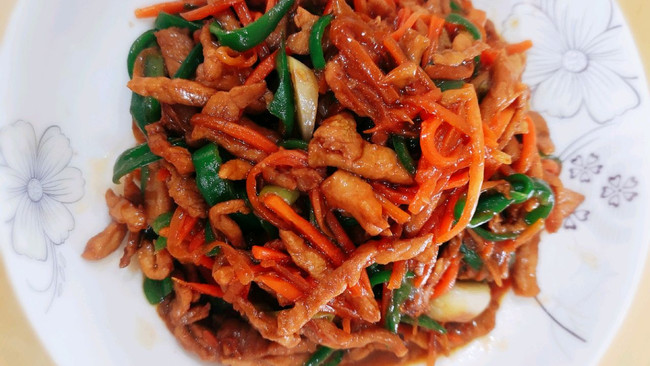青椒肉丝  下饭神菜的做法