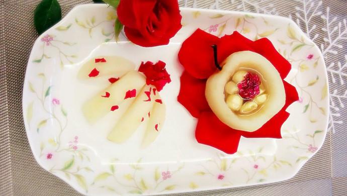 冰雪玫瑰—还原旅游卫视《我家厨房》剧中菜谱