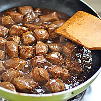 杏鲍菇黑椒牛肉粒的做法图解4