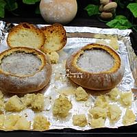 提高免疫,面包香菇浓汤#柏翠辅食节-春节辅食#的做法图解16