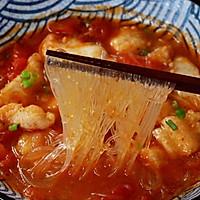 #入秋滋补正当时#龙利鱼粉丝番茄汤的做法图解18