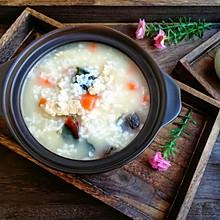 #母亲节,给妈妈做道菜#皮蛋瘦肉粥