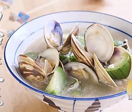 #硬核菜谱制作人#白蛤肉丝瓜汤的做法