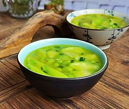 #夏日撩人滋味#十分钟快手菜——丝瓜毛豆汤的做法