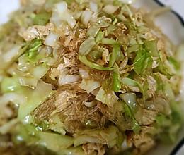 #巨下饭的家常菜#粉丝包菜的做法