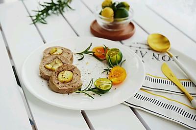 低脂健康-栗香清蒸鸭胸肉