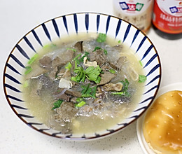 羊杂粉丝汤的做法