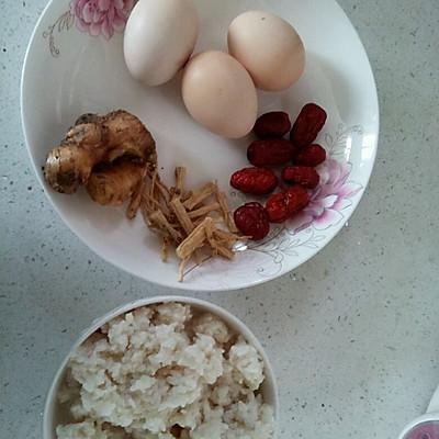 客家甜酒鸡蛋红枣汤的做法 步骤1