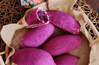 新晋网红紫薯包