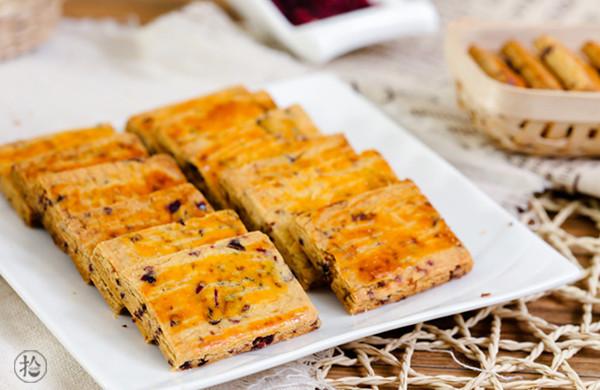 蔓越莓奶酥小饼干
