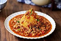 #钟于经典传统味#火山土豆泥的做法