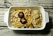 菌菇焖饭一锅端的做法