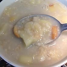 苹果香蕉花生燕麦粥-最简单的美味早餐