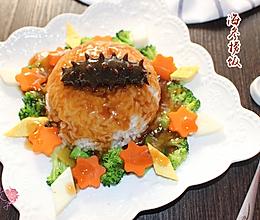 营养滋补的海参捞饭的做法