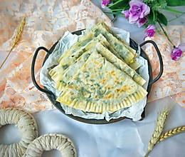 #憋在家里吃什么#春季美食~韭菜Ha饼的做法