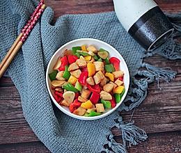 彩椒鸡丁#花10分钟,做一道菜!#的做法