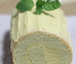 红薯变身冰淇林内馅——地瓜泥蛋糕卷的做法