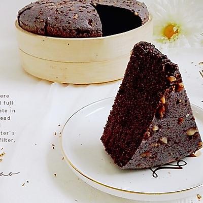 桂花核桃黑米蒸蛋糕(8寸)