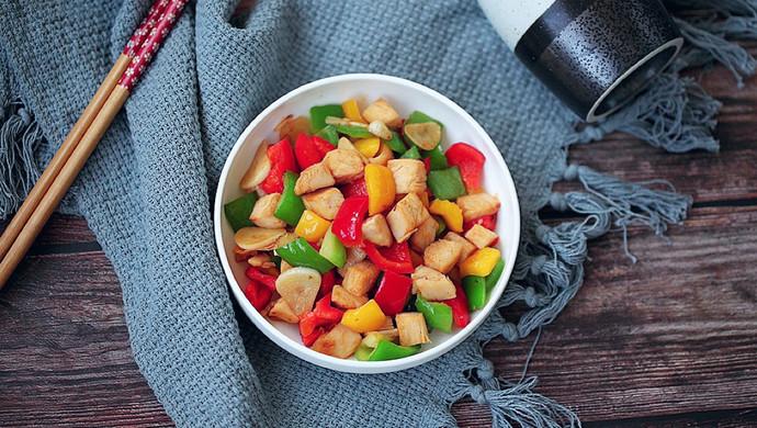 彩椒鸡丁#花10分钟,做一道菜!#