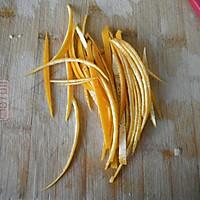 糖渍橙皮丝的做法图解2