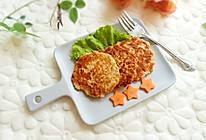 香煎鸡肉藕饼的做法
