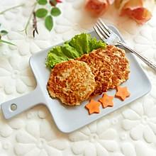 香煎鸡肉藕饼