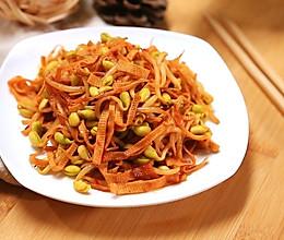 黄豆芽炒千张——迷迭香的做法