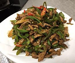 青椒炒肉丝(香辣下饭)
