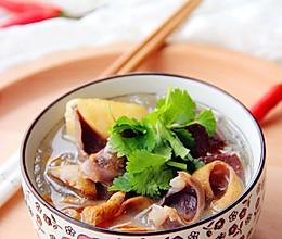 一碗回味久久的·鸭血粉丝汤·的做法