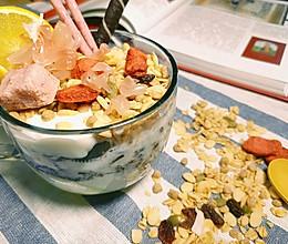 酸奶水果燕麦杯的做法