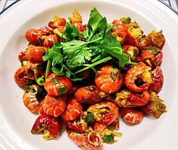 #百变鲜锋料理#吮指美食,爆炒蒜香龙虾尾的做法