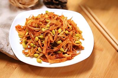 黄豆芽炒千张——迷迭香