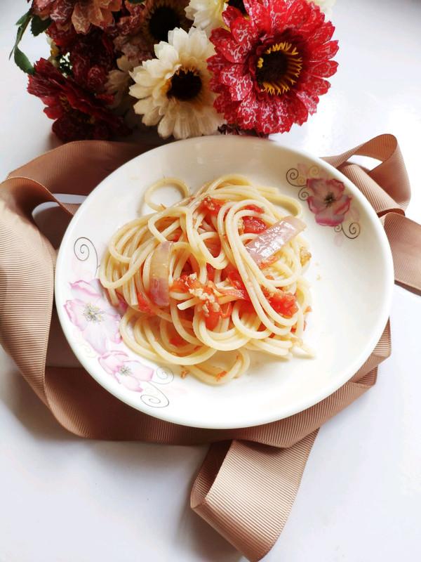 番茄酱意大利面的做法