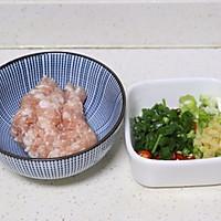 #新春美味菜肴# 肉末豆腐蒸蛋羹的做法图解4
