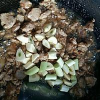 豆角肉焖面的做法图解7
