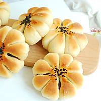 豆沙花型面包的做法图解13