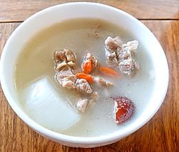 滋补羊肉汤,怎样熬出奶白浓汤的做法