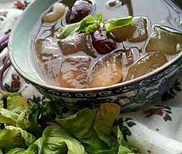 夏天专属的芦荟糖水·的做法