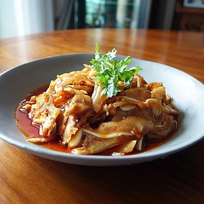 夏日涼菜--紅油耳片