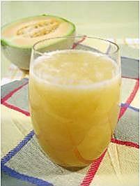 哈密瓜绿豆芽汁